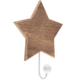 Star Wood Wall Hook